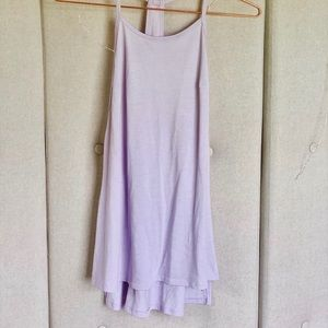 Small Lilac Workout Tank Top
